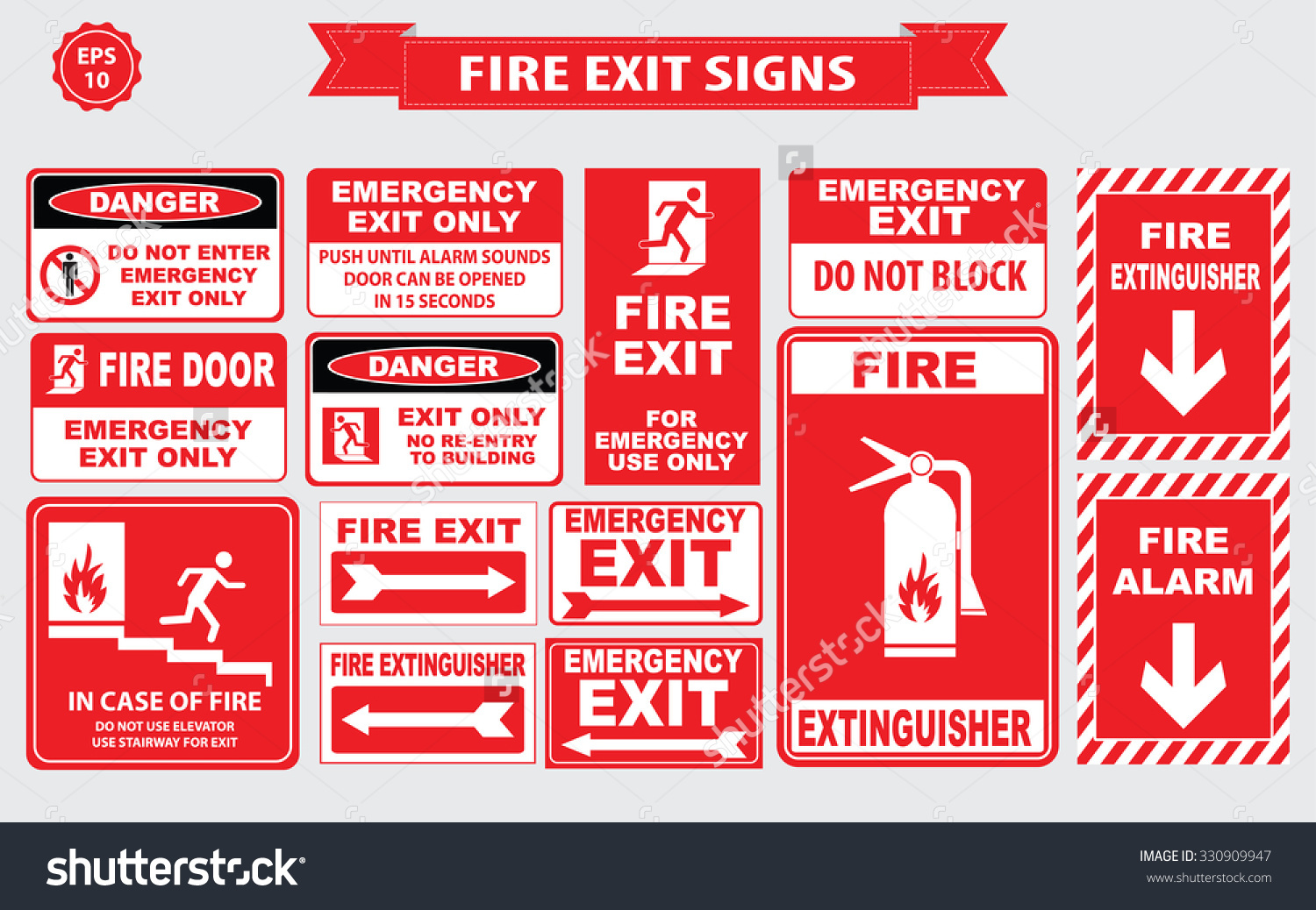 safety signs north london alarms and security